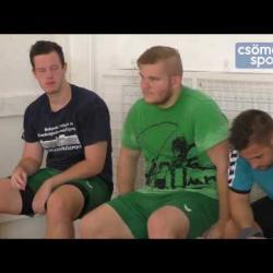 Embedded thumbnail for Elszántan készülnek az NB II-es szezonra férfi kézilabdacsapatunk újoncai